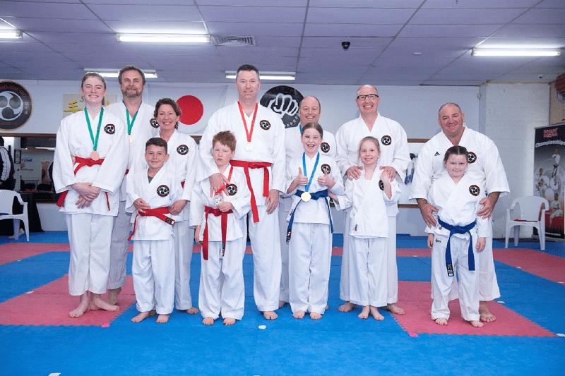 Family1, Canberra Karate Academy in Fyshwick and Gungahlin, Australian Capital Territory